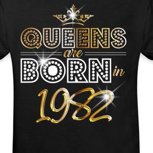 1982 - Birthday - Queen - Gold - EN Tee shirts - T-shirt Bio Enfant