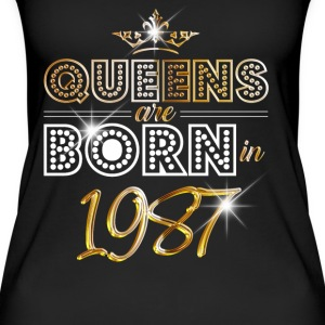 1987 - Birthday - Queen - Gold - EN Tops - Women's Organic Tank Top