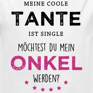 Coole Tante - Onkel Baby Bodys - Baby Bio-Langarm-Body