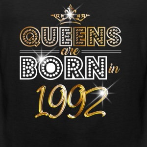 1992 - Birthday - Queen - Gold - EN Sports wear - Men's Premium Tank Top