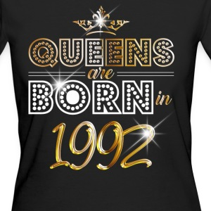 1992 - Birthday - Queen - Gold - EN Tee shirts - T-shirt Bio Femme
