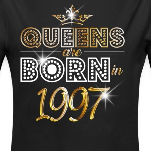 1997 - Birthday - Queen - Gold - EN Baby Bodysuits - Longlseeve Baby Bodysuit
