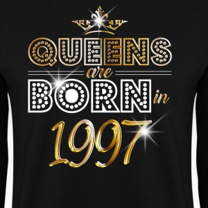 1997 - Birthday - Queen - Gold - EN Hoodies & Sweatshirts - Men's Sweatshirt