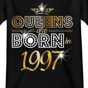 1997 - Birthday - Queen - Gold - EN Skjorter - T-skjorte for tenåringer