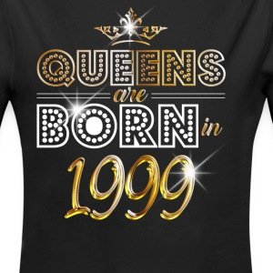 1999 - Birthday - Queen - Gold - EN Baby body - Baby bio-rompertje met lange mouwen
