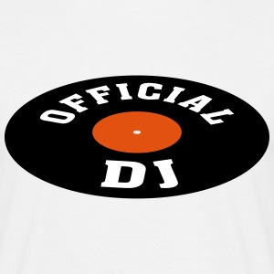 Vinyl DJ * Disc jockey Discjockey Techno Turntable T-shirts - T-shirt herr