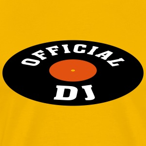 Vinyl DJ * Disc jockey Discjockey Techno Turntable T-shirts - Premium-T-shirt herr