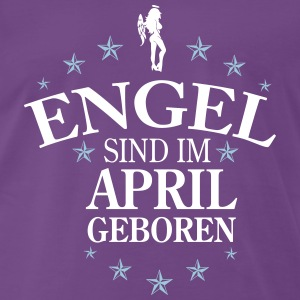 Engel April T-Shirts - Männer Premium T-Shirt