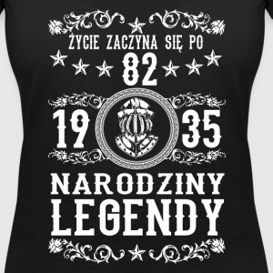 1935 - 82 lat - Legendy - 2017 - PL T-Shirts - Women's V-Neck T-Shirt