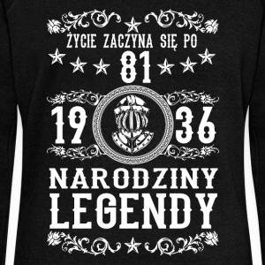 1936 - 81 lat - Legendy - 2017 - PL Sweat-shirts - Pull Femme col bateau de Bella