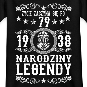 1938 - 79 lat - Legendy - 2017 - PL T-Shirts - Teenager T-Shirt