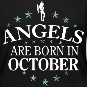 Angels October Langarmshirts - Frauen Premium Langarmshirt