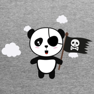 Panda Pirate with Flag Sa19o Caps & Hats - Jersey Beanie