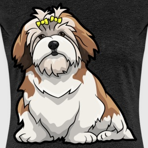 Lhasa Apso Dog - Women's Premium T-Shirt