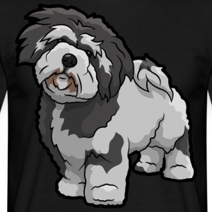 Lhasa Apso Dog - Men's T-Shirt