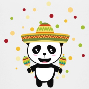 Panda Mexico Fiesta S8y7v Shirts - Teenage Premium T-Shirt
