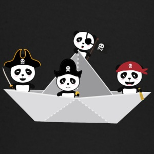 Panda Pirates Paperboat Crew  S6lca Baby Long Sleeve Shirts - Baby Long Sleeve T-Shirt