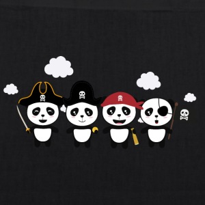 Panda Pirates Crew St4v1 Bags & Backpacks - EarthPositive Tote Bag