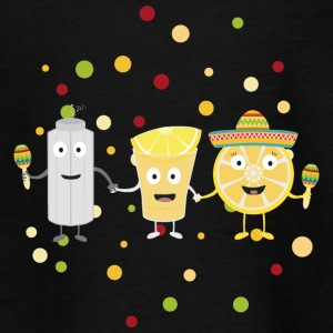 Tequila Fiesta Party fyre 074 T-shirts - Børne-T-shirt