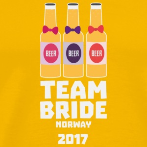 Team Bride Norway 2017 S6q99 T-Shirts - Men's Premium T-Shirt