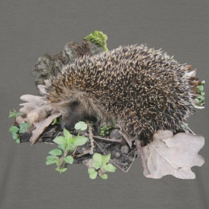hedgehog - T-shirt herr