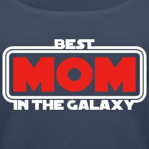 Best Mom in the Galaxy (dark) Tops - Frauen Premium Tank Top