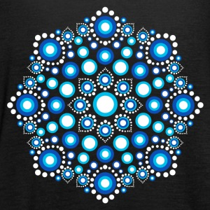 Color Dots, Dot Art, Mandala, Yoga, Meditazione Top - Top da donna della marca Bella