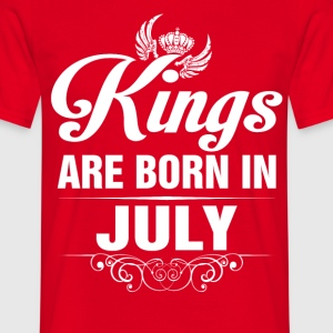 Kings Are Born In July Tshirt T-Shirts - Men's T-Shirt