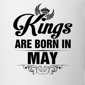 Kings Are Born In May Tshirt Mugs & Drinkware - Mug