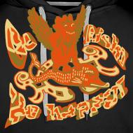 Motiv ~ Go fish! Be happy!, sweatshirt