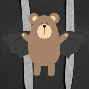 Vampire Grizzly Bear Se206 Hoodies & Sweatshirts - Women's Premium Hoodie