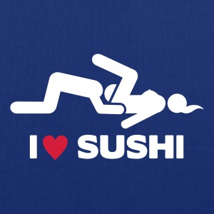 I LOVE SUSHI Bags & Backpacks - Tote Bag