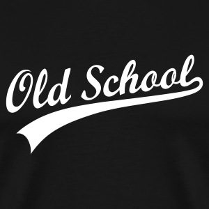OLD SCHOOL ORIGINAL T-Shirts - Men's Premium T-Shirt
