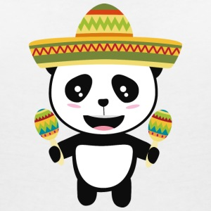 Mexican Panda Fiesta Sotqm T-Shirts - Women's V-Neck T-Shirt