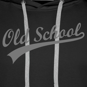 OLD SCHOOL ORIGINAL Hoodies & Sweatshirts - Men's Premium Hoodie