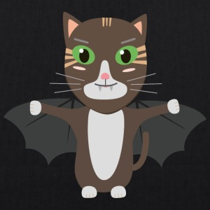 Vampire Kitty Cat Sbqzw Bags & Backpacks - EarthPositive Tote Bag