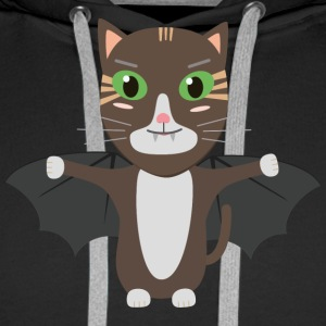 Vampire Kitty Cat Sbqzw Hoodies & Sweatshirts - Men's Premium Hoodie