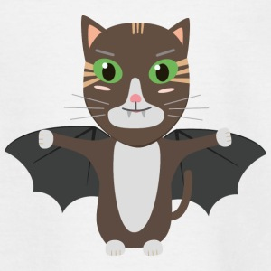Vampire Kitty Cat Sbqzw Shirts - Kids' T-Shirt