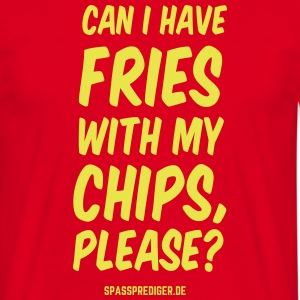 Chips with Fries - Men's T-Shirt