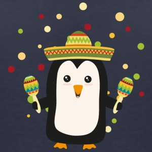Penguin Mexico Fiesta Sz87f T-Shirts - Women's V-Neck T-Shirt