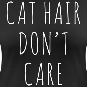 Cat Hair Funny Quote T-shirts - vrouwen T-shirt ademend