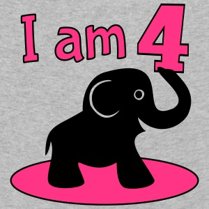 I am 4 Girl Birthday Long Sleeve Shirts - Kids' Premium Longsleeve Shirt
