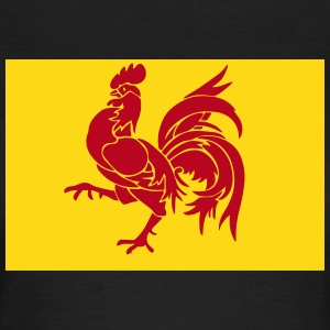 Flag of Wallonia - Belgium - Flanders T-Shirts - Women's T-Shirt
