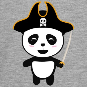 Capitaine Pirate Panda S5pfg Manches longues - T-shirt manches longues Premium Ado