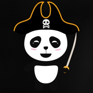 Panda Pirate Captain S5pfg Baby Shirts  - Baby T-Shirt