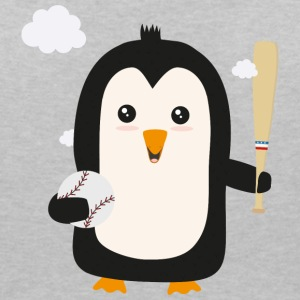 Penguin Baseball Player with Ball Sv6qq T-Shirts - Women's V-Neck T-Shirt