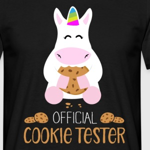 official cookie tester T-Shirts - Männer T-Shirt