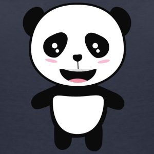 Cute Panda Kawaii Syo0s T-Shirts - Women's V-Neck T-Shirt