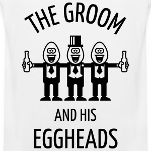 The Groom And His Eggheads (Stag Party / 1C) Sports wear - Men's Premium Tank Top
