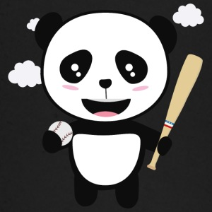 Panda Baseball Player with Ball S99m1 Baby Long Sleeve Shirts - Baby Long Sleeve T-Shirt